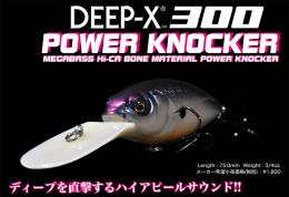 DEEP-X300 POWER KNOCKER